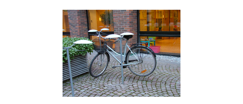 Cycle stand, Sweden