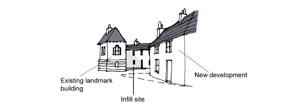 Infill sites example